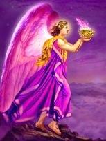 La Flamme Violette et l`Archange Zadkiel