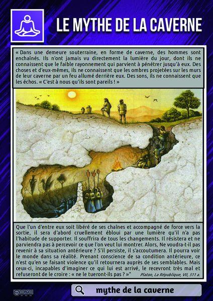 allégorie de la caverne de Platon : de l`ombre à la lumière