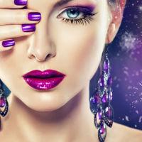 boucles d`oreilles en pierres gemmes et cristaux naturels, bijoux à offrir et à s`offrir
