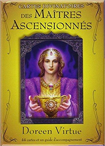 Cartes divinatoires des Maîtres Ascensionnés de Doreen Virtue