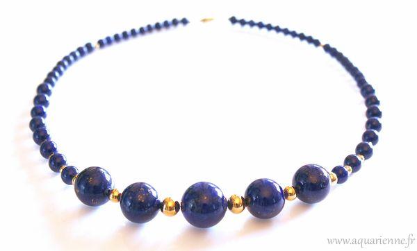 Lapis-lazuli, pour harmoniser le chakra du troisième oeil