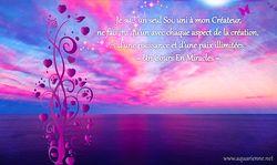 Je suis un seul Soi, uni à mon Créateur - Un Cours En Miracles - Leçon 95