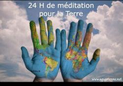 1er novembre 2015, 24 heures de méditation pour la Terre. Méditation mondiale.