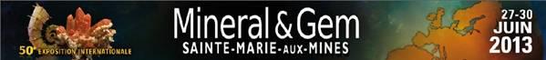 Exposition Internationale Mineral & gem du 27 au 30 juin 2013