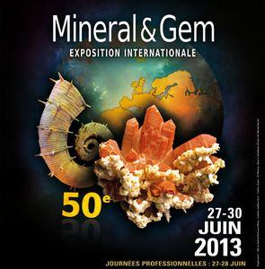 Mineral & Gem fête ses 50 ans : exposition internationale à Sainte-Marie-aux-Mines