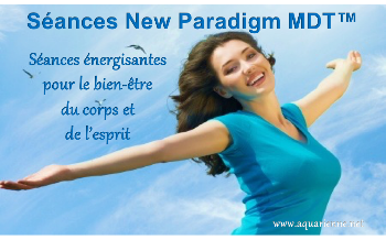 Séances d`énergie New Paradigm MDT pour le bien-être du corps et de l`esprit