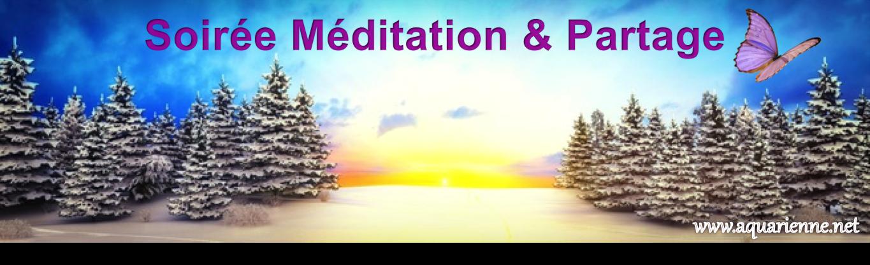 Soirée Méditation et Partage accompagnée des énergies de Merlin