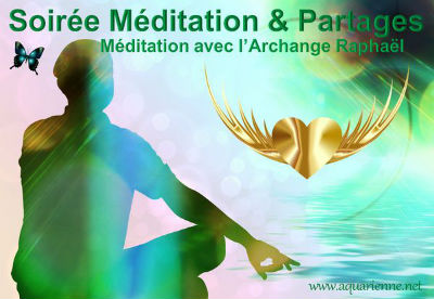 samedi 23 avril 2016 : soirée méditation et partage avec l`Archange Raphaël, à Rocbaron