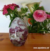 Tourmaline rose variété Rubellite de Madagascar sur Quartz