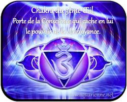 Troisième oeil ou Ajna Chakra, Porte de la Consience cache en lui le pouvoir de la clairvoyance